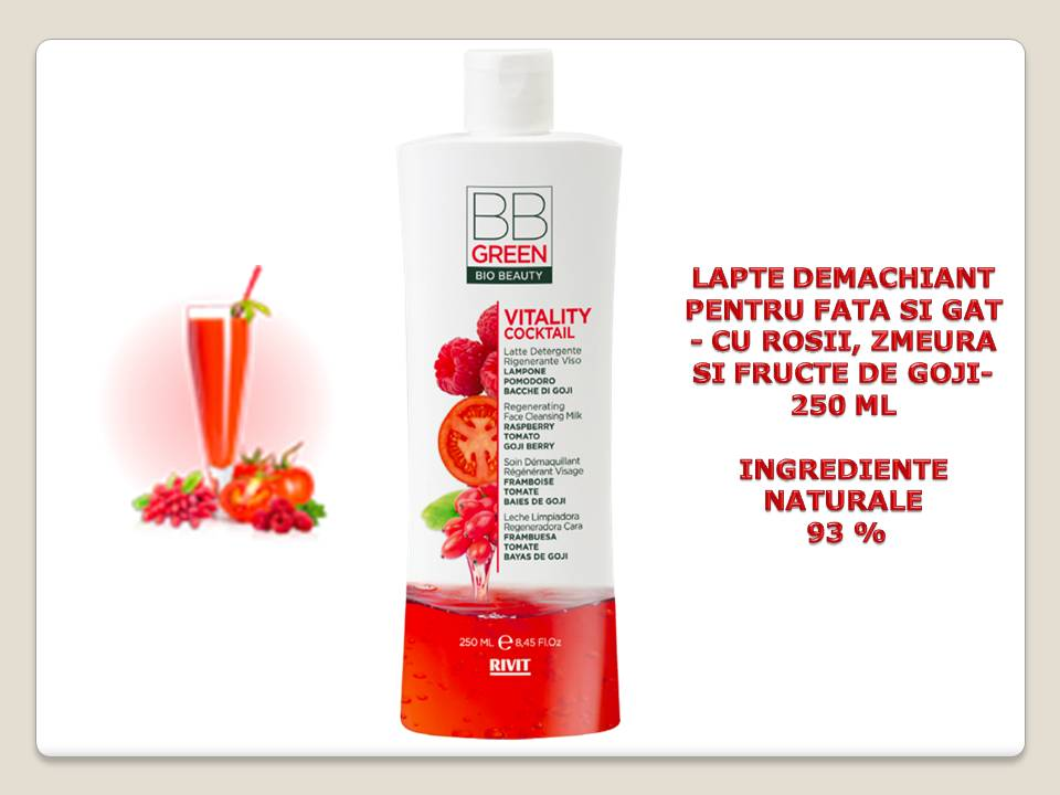 LAPTE DEMACHIANT REGENERANT PENTRU FATA SI GAT 250 ml